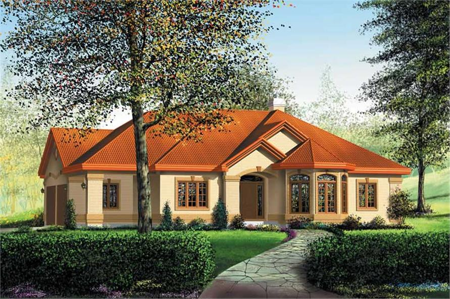 Main image for house plan # 12174
