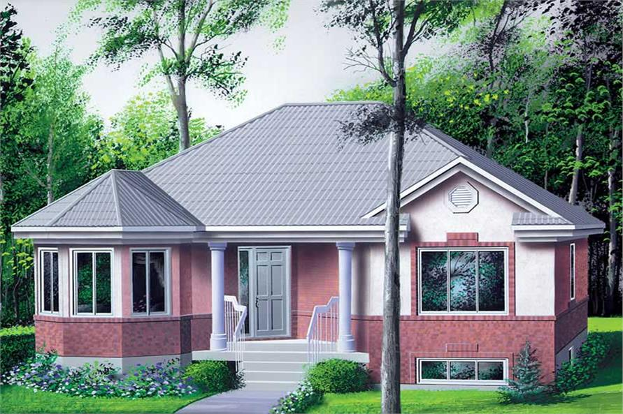 Main image for house plan # 12307