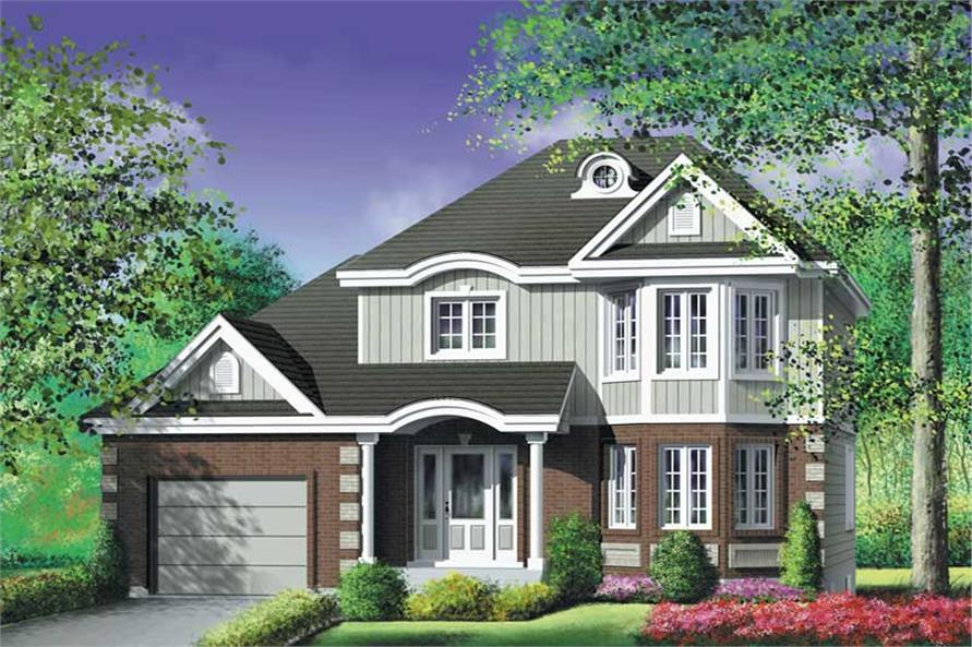 Main image for house plan # 12950