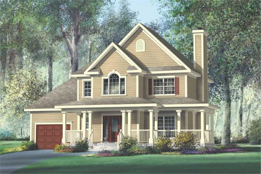 Main image for house plan # 12195