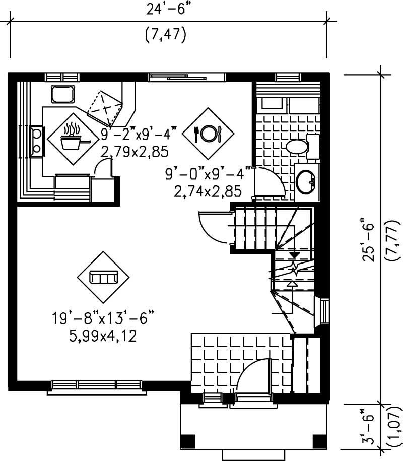Traditional Colonial House Plans Home Design Pi 20780