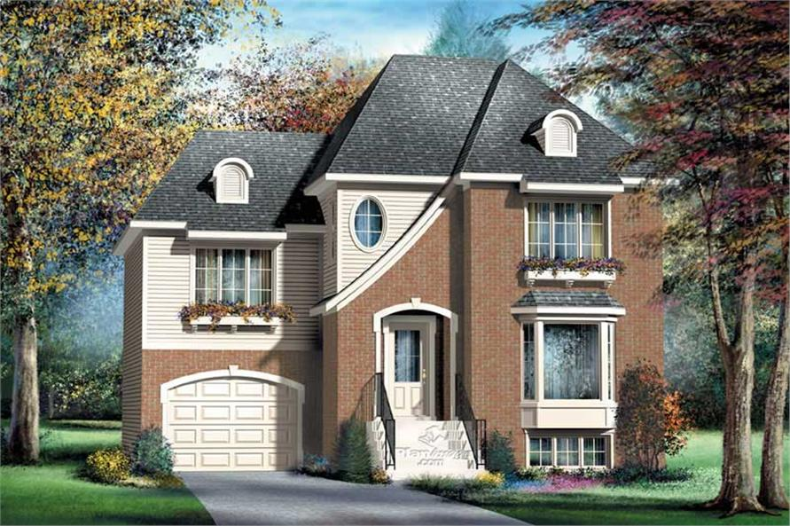 Main image for house plan # 12954