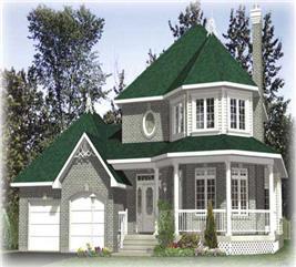 House Plan #158-1002