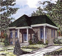 House Plan #158-1008