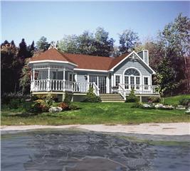 House Plan #158-1043