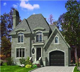 House Plan #158-1044