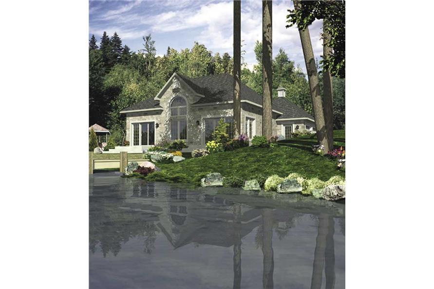 2-Bedroom, 1340 Sq Ft Bungalow Home Plan - 158-1048 - Main Exterior