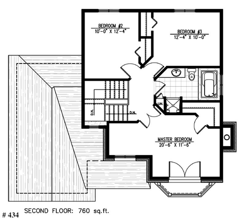 European house plans home design pdi434 for 1077 marinaside crescent floor plan