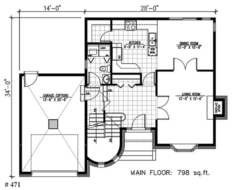 3 Bedrm, 1610 Sq Ft Victorian House Plan #158-1078