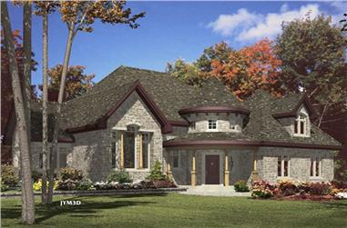 2-Bedroom, 1980 Sq Ft Ranch Home Plan - 158-1079 - Main Exterior