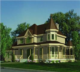 House Plan #158-1084
