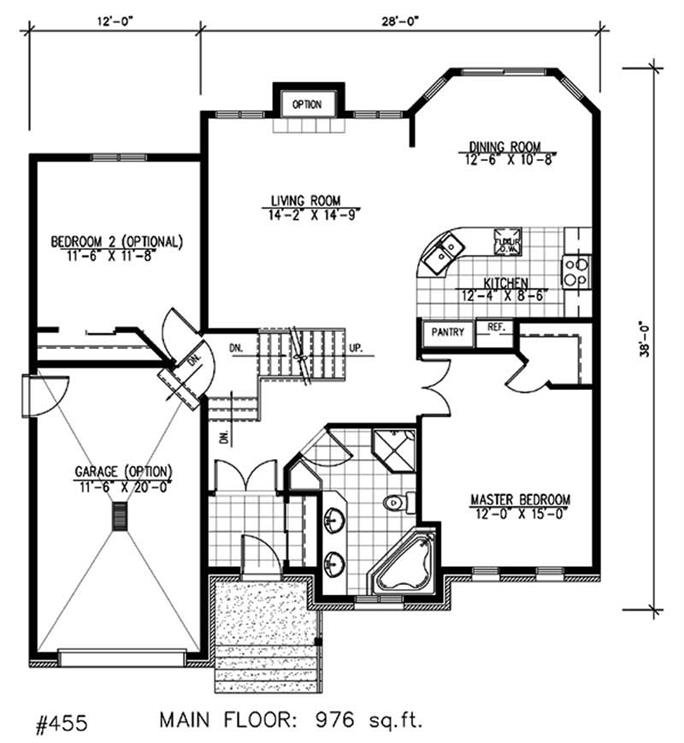 European House Plans - Home Design Pdi455