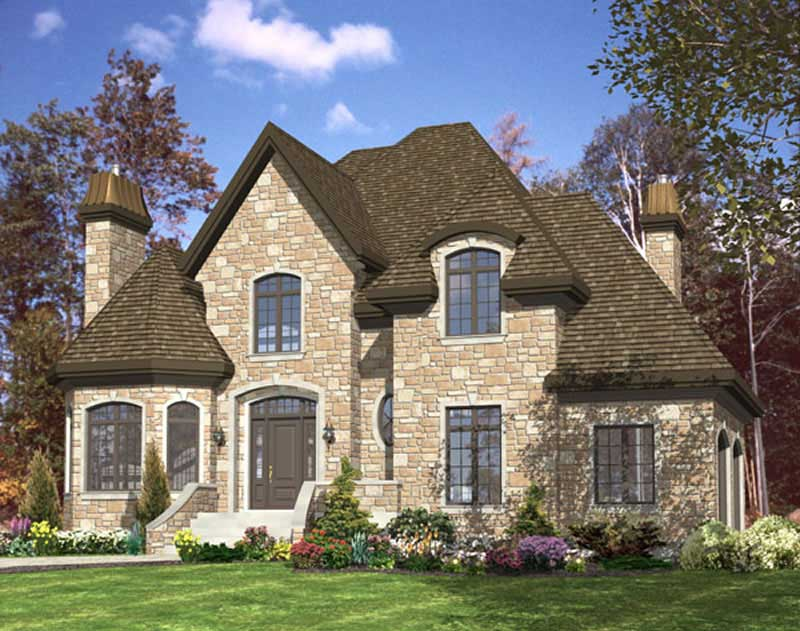 European house plans home design pdi536 for European home designs