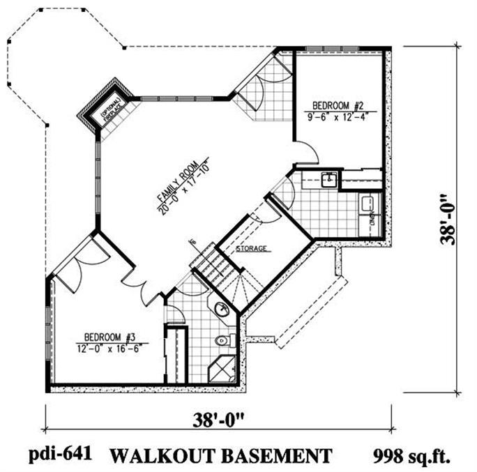 Lakefront Home Plan with Porch & Deck - Plan #158-1153 on craftsman narrow lot house plans, lakefront homes, old narrow lot house plans, two-story narrow lot house plans, river narrow lot house plans, chicago narrow lot house plans, cottage narrow lot house plans, best narrow lot house plans, lakeside home plans, unique narrow lot house plans, coastal narrow lot house plans, garage narrow lot house plans, long narrow floor plans, shallow lot house plans, small lot house plans, front view lot plans, luxury narrow lot house plans,