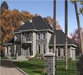 House Plan #158-1169