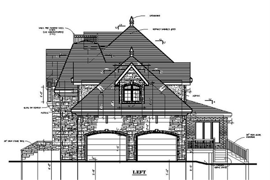 158-1197 house plan left