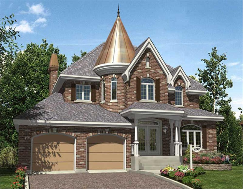 Main image for house plan # 9346