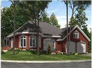 Main image for house plan # 9344