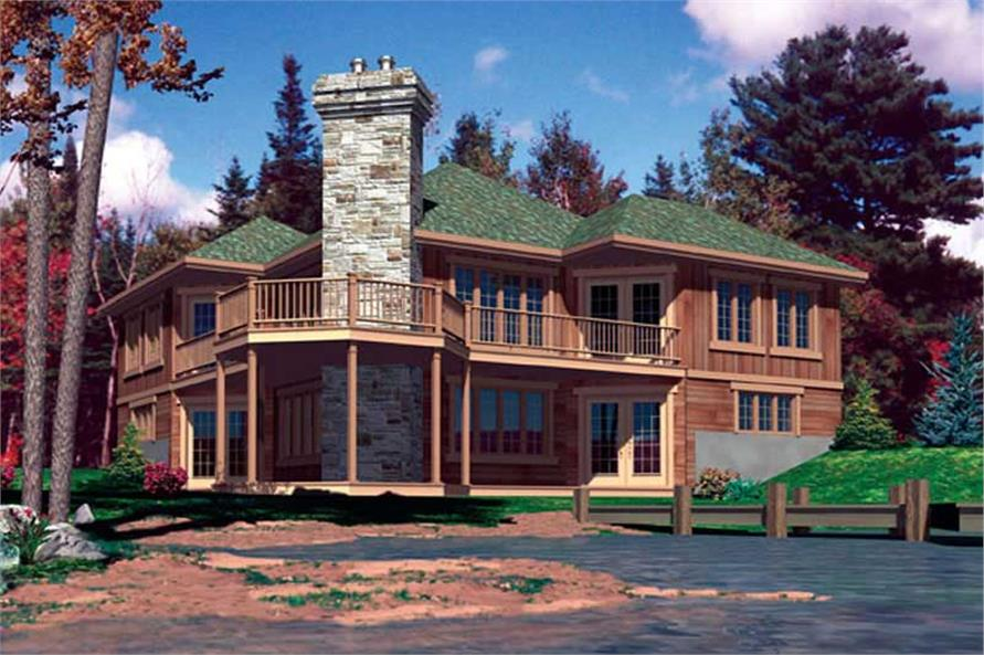 Main image for house plan # 9371