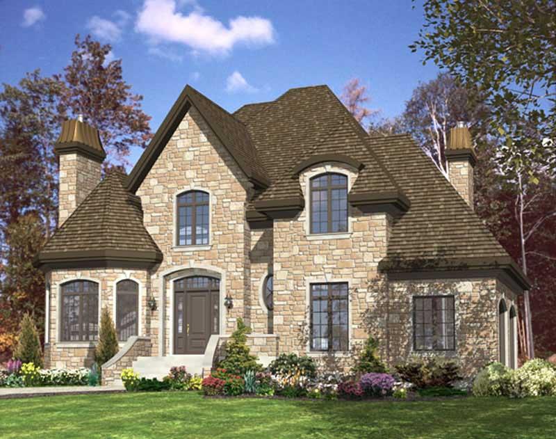 Contemporary European House Plans Home Design Pdi 536