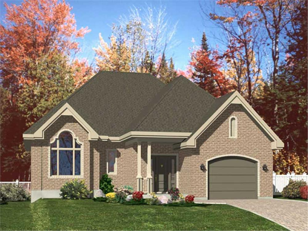 Main image for house plan # 9372