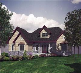 House Plan #158-1224