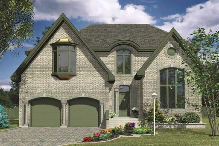 Main image for house plan # 9351