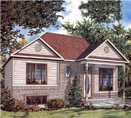 House Plan #158-1239