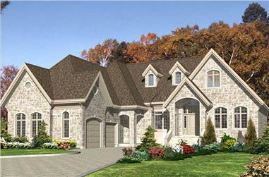2-Bedroom, 2036 Sq Ft Bungalow House Plan - 158-1245 - Front Exterior