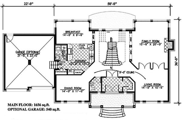 158-1247: Floor Plan Main Level