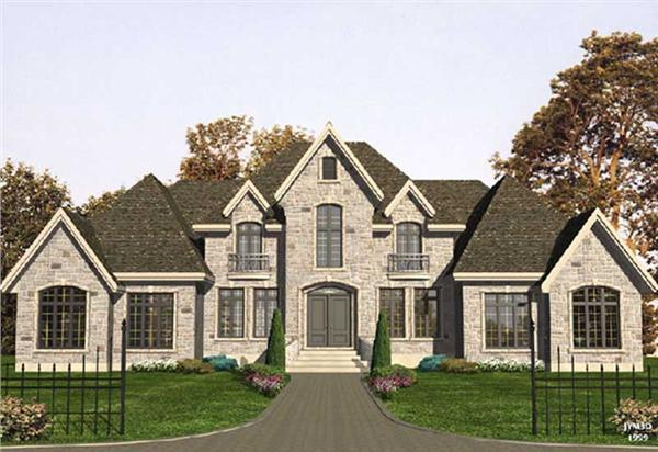 Main image for house plan # 9349