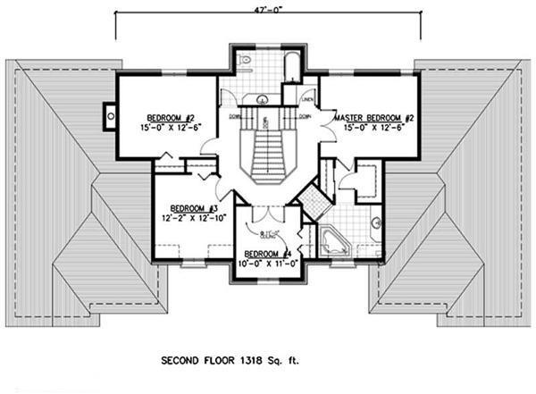 158-1251: Floor Plan Upper Level