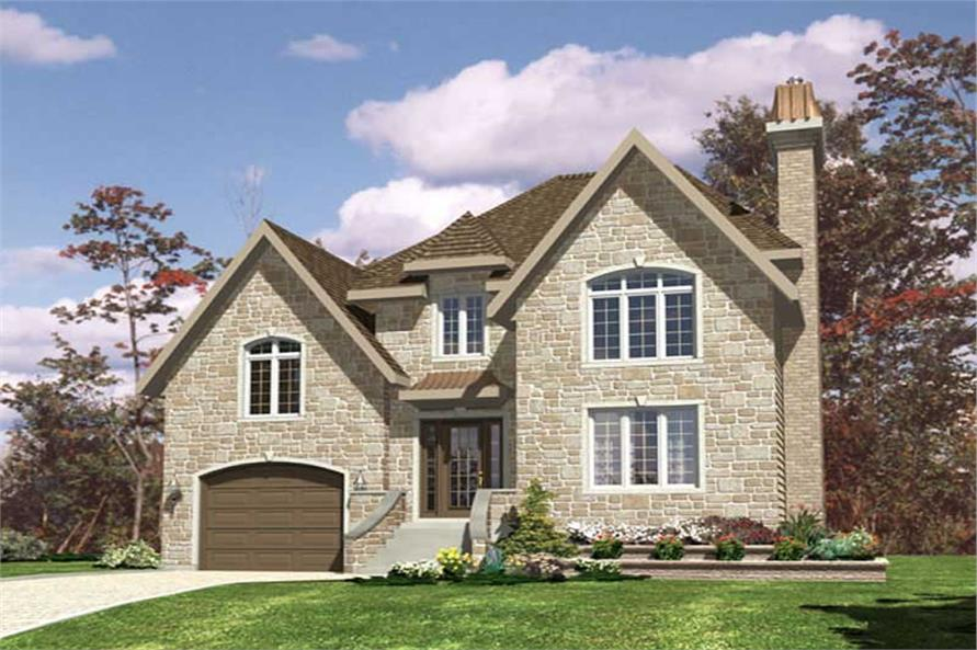 Main image for house plan # 9379