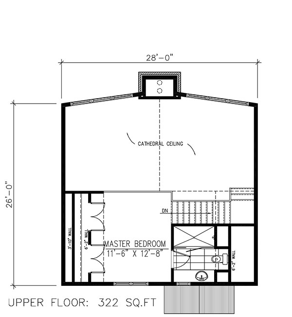 Floor Planning Tools In Asic: Vacation Homes House Plan #158-1255: 3 Bedrm, 1094 Sq Ft