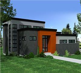 House Plan #158-1258