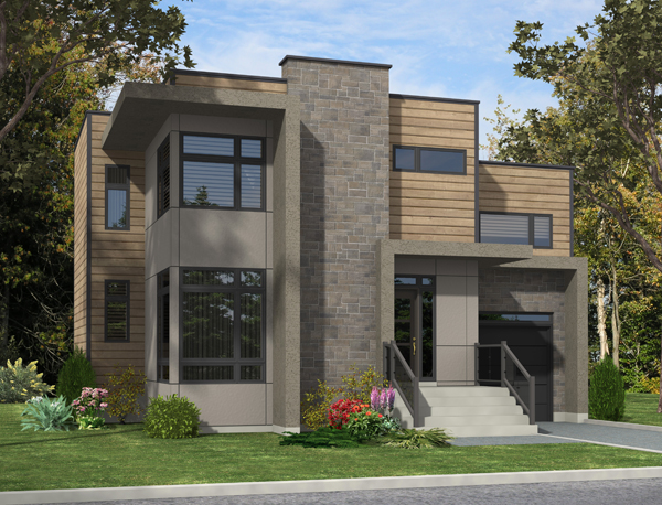 Contemporary House Plan 158 1280 3 Bedrm 1536 Sq Ft