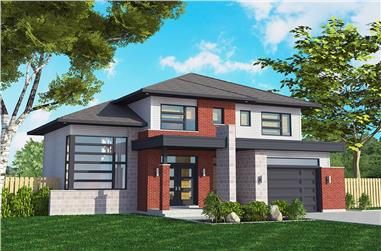 3-Bedroom, 1525 Sq Ft Cottage House Plan - 158-1309 - Front Exterior