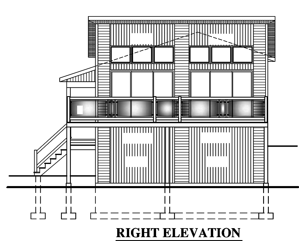 4 Bedrm 720 Sq Ft Bungalow House Plan 158 1319
