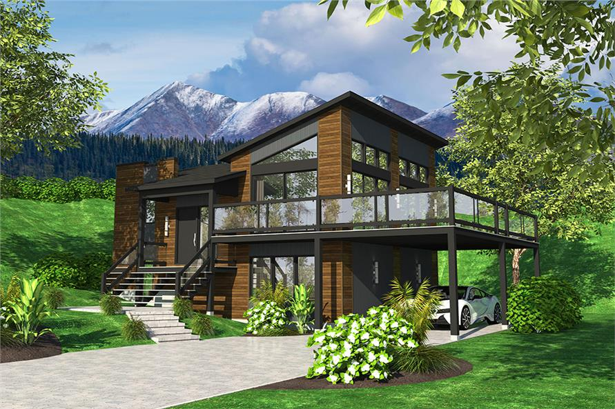 4 Bedrm, 720 Sq Ft Bungalow House Plan #158-1319