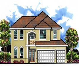 House Plan #159-1032