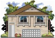 This is an artist's rendering for these Garage Plans.