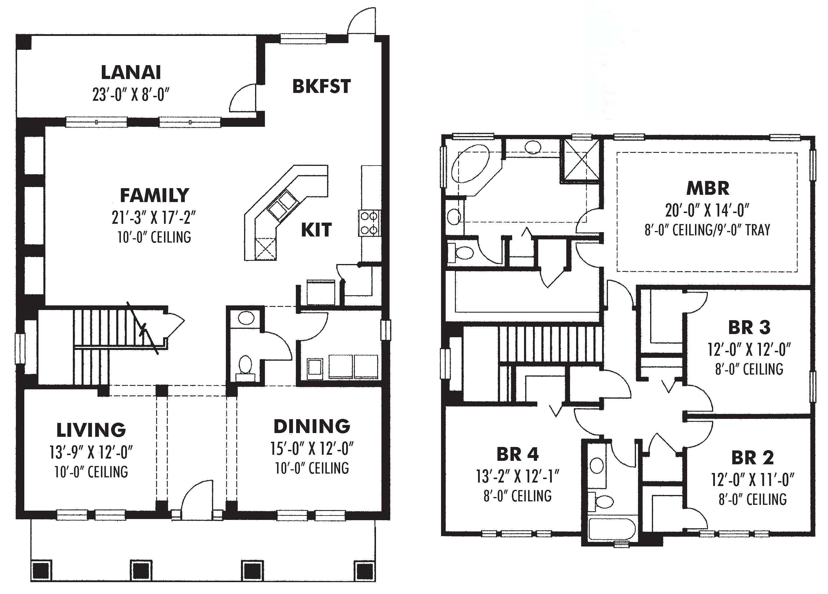 Tuscan House Plans Home Design 2749