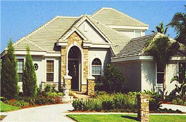 5-Bedroom, 3750 Sq Ft European Home Plan - 159-1104 - Main Exterior