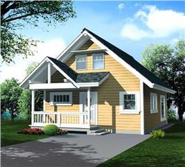 House Plan #160-1000