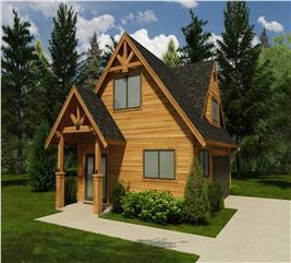 House Plan #160-1001