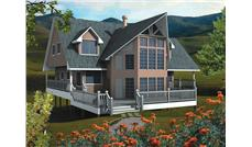 Main image for house plan # 17876