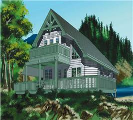 House Plan #160-1007