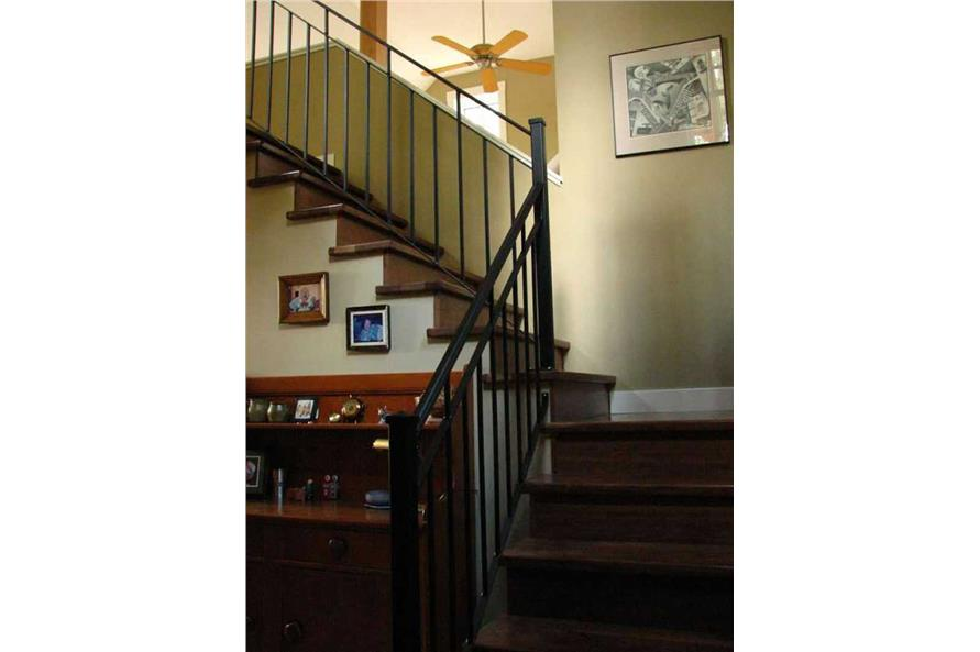 Entry Hall: Staircase of this 3-Bedroom,1235 Sq Ft Plan -1235