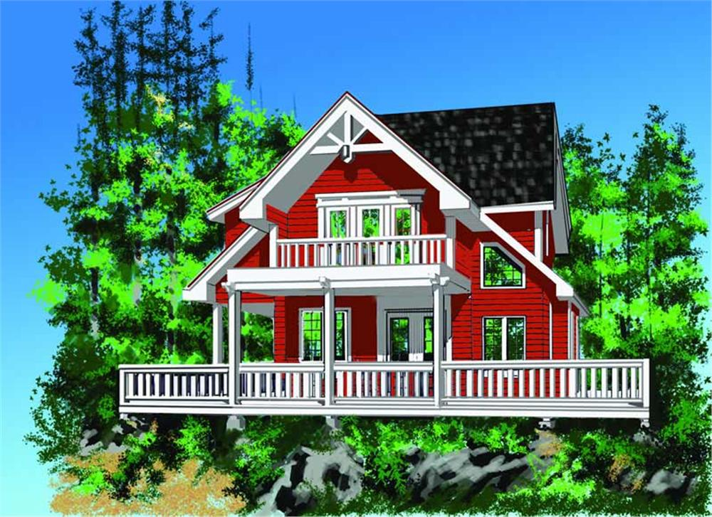 Main image for house plan # 17865
