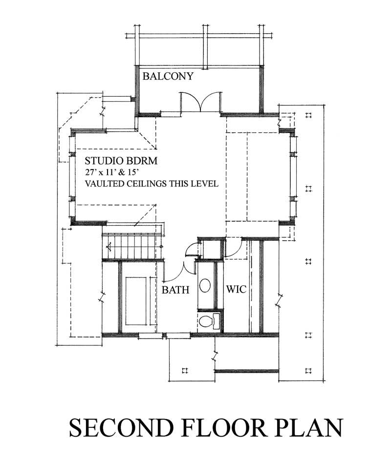 House Plan RS-1286 Second Floor Plan